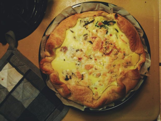 Torta salata in ventiminuti